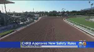 Horse Racing To Resume Friday At Santa Anita Park [Video]