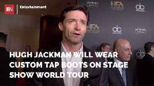 Check Out Hugh Jackman's New Boots Fashion [Video]