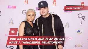Rob Kardashian And Blac Chyna Settle Their Issues To Be Better Parents [Video]