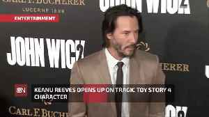 Keanu Reeves On His Fateful Toy Story 4 Character [Video]