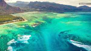This Island's Underwater Waterfall is the Coolest Thing You'll See All Day [Video]
