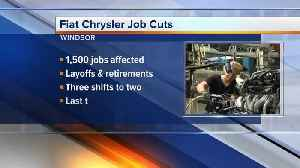 Fiat Chrysler cutting jobs in Windsor [Video]