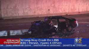 Deadly Wrong-Way Crash On Interstate 355 [Video]