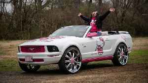 My Hello Kitty Mustang | RIDICULOUS RIDES [Video]