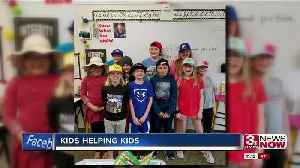 Fundraiser allows kids to give back to flood victims [Video]