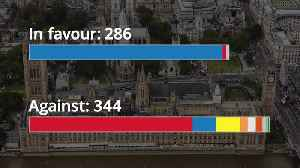 MPs reject May's Brexit deal: A breakdown of the votes [Video]