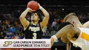 Carsen Edwards Does His Best Kemba Walker Impression in Purdue's Win Over Tennessee [Video]