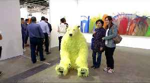 Hong Kong: World's largest contemporary art fair opens [Video]