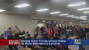 Strong Odor Forces United Flight To Make Emergency Landing [Video]