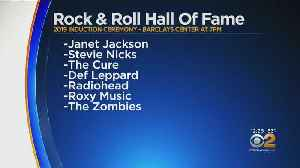 Rock & Roll Hall Of Fame Ceremony Tonight At Barclay's Center In Brooklyn [Video]
