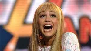 Miley Cyrus Got Bangs And Blonde Hair To Look Exactly Like Hannah Montana [Video]