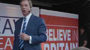Nigel Farage condemns May's Brexit approach at Leave rally [Video]