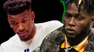 Jimmy Butler Reveals WHY He Owes Antonio Brown 30 THOUSAND Dollars! [Video]