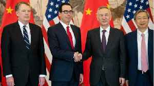 U.S., China Hold 'Candid And Constructive' Trade Talks In Beijing [Video]