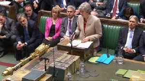 PM hinted that she could have another go at Brexit deal [Video]