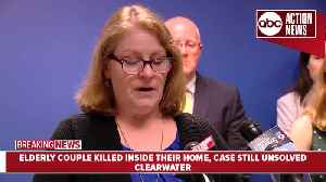 Reward money nearly doubled in case of Clearwater couple found shot to death [Video]