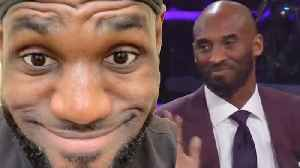 LeBron James RESPONDS To Kobe Bryant Calling Himself The GOAT & Lakers WARN Him About Body Language [Video]