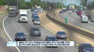 New study finds women pay more for auto insurance than men in Michigan [Video]