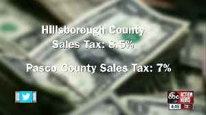 News video: Pasco County sales tax confusion