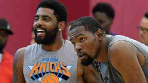 Kevin Durant & Kyrie Irving Talking EVERYDAY As NBA Insiders Are CONVINCED KD is Heading To Knicks [Video]