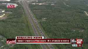 Fatal accident shuts down parts of northbound I-75 in Hillsborough County [Video]