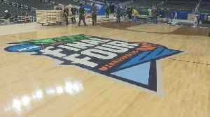 Final Four Court Construction Completed At US Bank Stadium [Video]