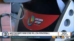 $768.4 million Powerball jackpot-winning ticket sold in Wisconsin [Video]