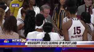 Mississippi State women's basketball gearing up for Sweet 16 [Video]