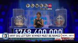 Won the Powerball jackpot? Why Wisconsin law means you'll have to trade your name for the millions [Video]