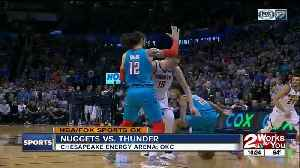 Denver Nuggets complete regular season series sweep of Oklahoma City Thunder with 115-105 victory [Video]