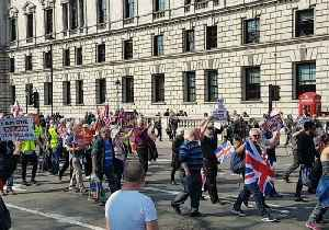 Pro-Brexit Demonstrators March Through London as Parliament Rejects Withdrawal Agreement [Video]