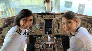 Mother-Daughter Duo Go Viral After Co-Piloting Flight Cross-Country [Video]