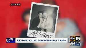 UK music duo Her's was killed in I-10 wrong-way crash, BBC reports [Video]