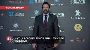4 Days And Out For Nicolas Cage Marriage [Video]