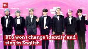 BTS Just Won't Sing In English No Matter What [Video]