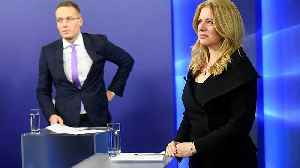 Slovakia prepares to elect liberal lawyer as first female president [Video]
