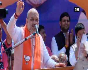 Only BJP PM Modi can guarantee Indias safety Amit Shah [Video]