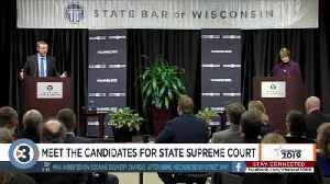State Supreme Court candidates each pledge to uphold Constitution, explain why they're running [Video]
