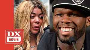 "50 Cent Slanders Sober Living Wendy Williams, Calls Her A ""Crack Head"" [Video]"