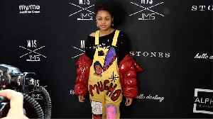 Briana Roy MJS x JMS Autumn/Winter 2019 Collaboration Collection Red Carpet [Video]