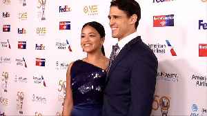 Gina Rodriguez 50th NAACP Image Awards Non-Televised Dinner Red Carpet [Video]