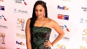 Tamera Mowry 50th NAACP Image Awards Non-Televised Dinner Red Carpet [Video]