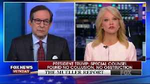 "Chris Wallace and Kellyanne Conway spar over ""total exoneration"" [Video]"