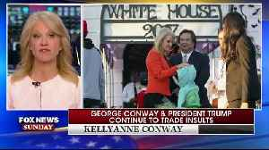Chris Wallace asks Kellyanne Conway about her husband [Video]