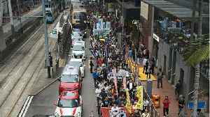 Hong Kong March Against Extradition Gets Thousands [Video]