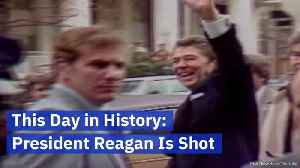 Remembering The Day That President Reagan Was Shot [Video]