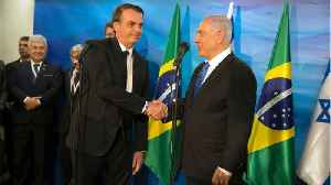 Brazil Opens Israel Trade Mission In Jerusalem, Short of Full Embassy Move [Video]