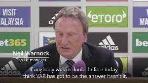 Warnock says it's 'soul-destroying' after controversial loss against Chelsea [Video]