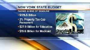 The latest on the NYS budget [Video]