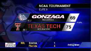 Gonzaga falls to Texas Tech 75-69 in Elite Eight after back-and-forth battle [Video]